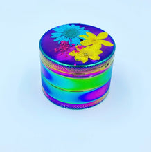 Load image into Gallery viewer, floral rainbow grinder
