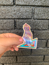 Load image into Gallery viewer, Holographic original digital illustration sticker