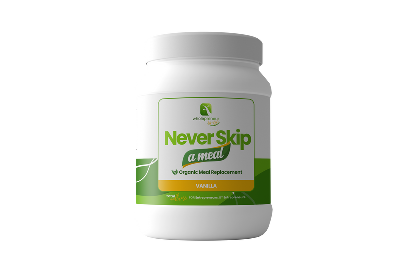 """Never Skip A Meal"" Organic Meal Replacement"
