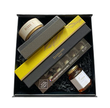Load image into Gallery viewer, Maison D&C, Maison DC, Luxury Gourmet Box, Luxury Gift Box, Gift Box, Luxury gift, Luxury Gift Set, Environmentally gift box, French gift Box, French Luxury gift box, French Luxury Tea, French Tea, French Gourmet Tea, Green Tea, Black Tea, Red Tea, French Chocolat, French Gourmet Chocolat, Gourmet Chocolat, Chocolate Truffles, Fruits Candy, Organic Honey, All Natural Honey, Local Honey, Fresh Organic Lavender, made in USA, Washington D.C. Personalized Luxury Gift, Personalized Gift.