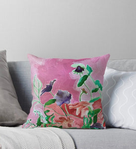 Wildflower - Throw pillow