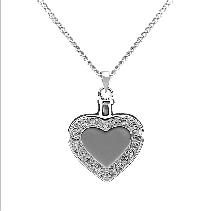 Heart With Border Pendant