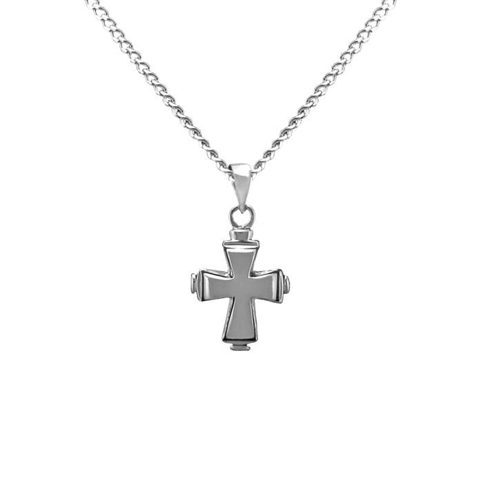 Tiered Cross Pendant