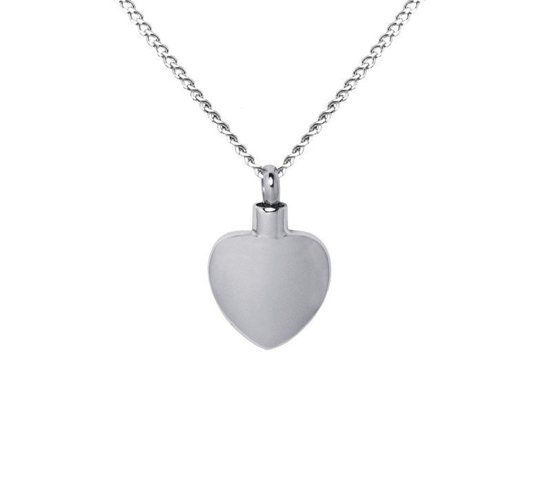 Plain Heart Pendant