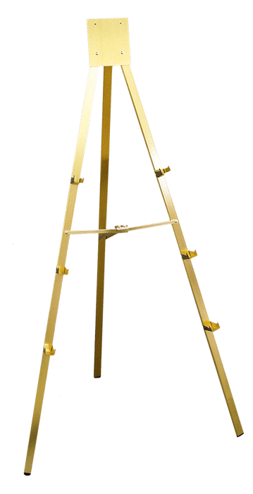 Gold Easel, 5 Ft.