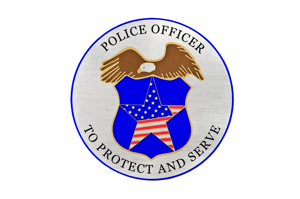 Police Officer Magnet