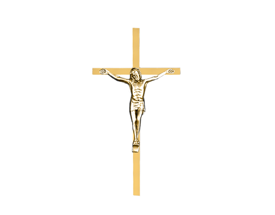 Traditional Crucifix Applique