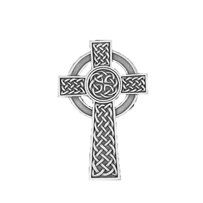 Knotted Celtic Cross Applique