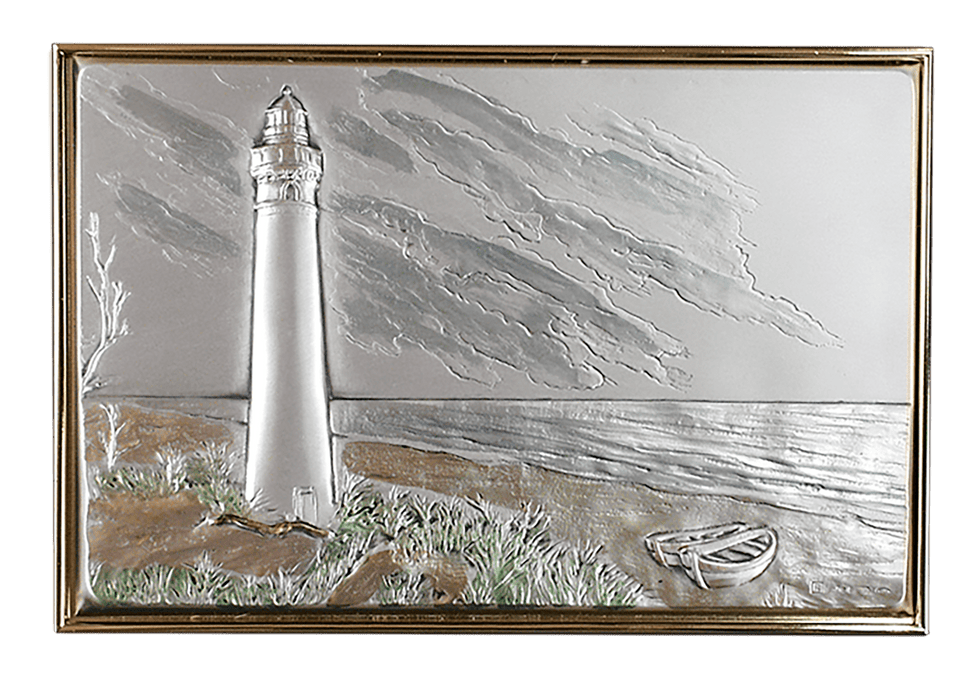 Lighthouse Landscape Applique