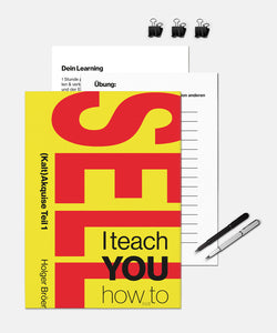 I teach YOU how (not) to sell - (Kalt)Akquise Teil 1 <br> 112 Seiten Worksheet