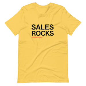 SALES ROCKS T-shirt