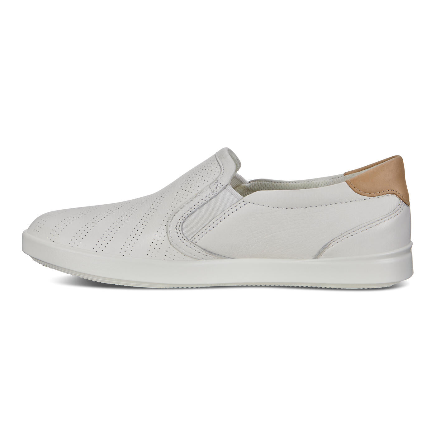Ecco Ladies Leisure 205043 - White/Powder