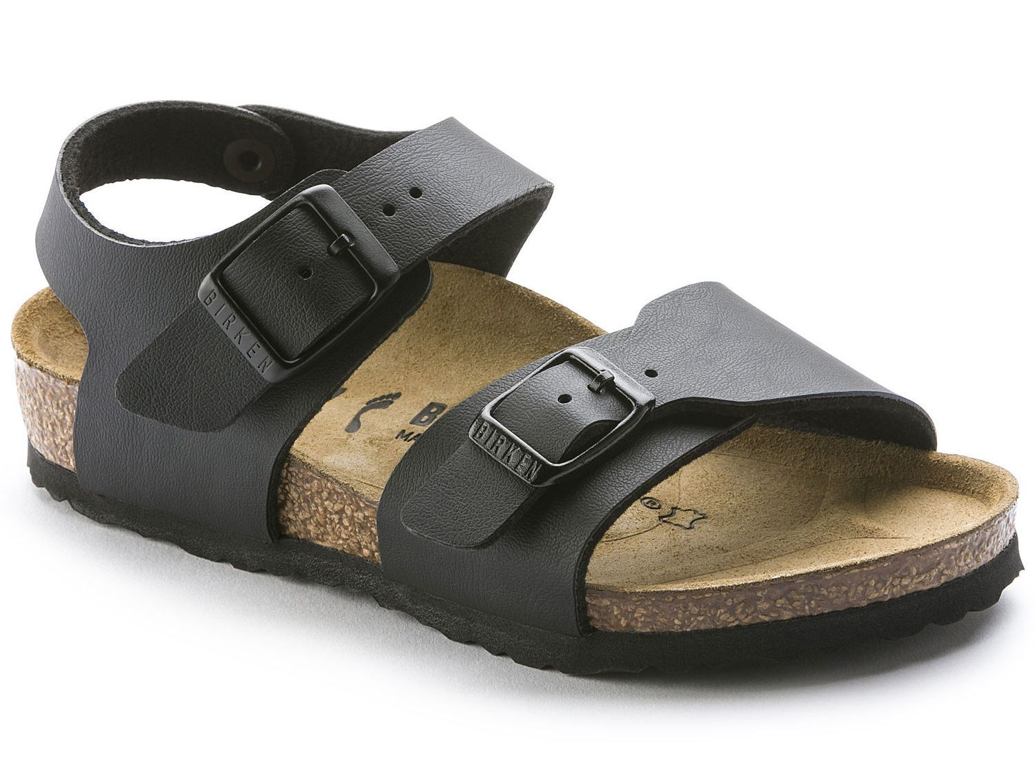 Birkenstock New York - Black Birko-Flor