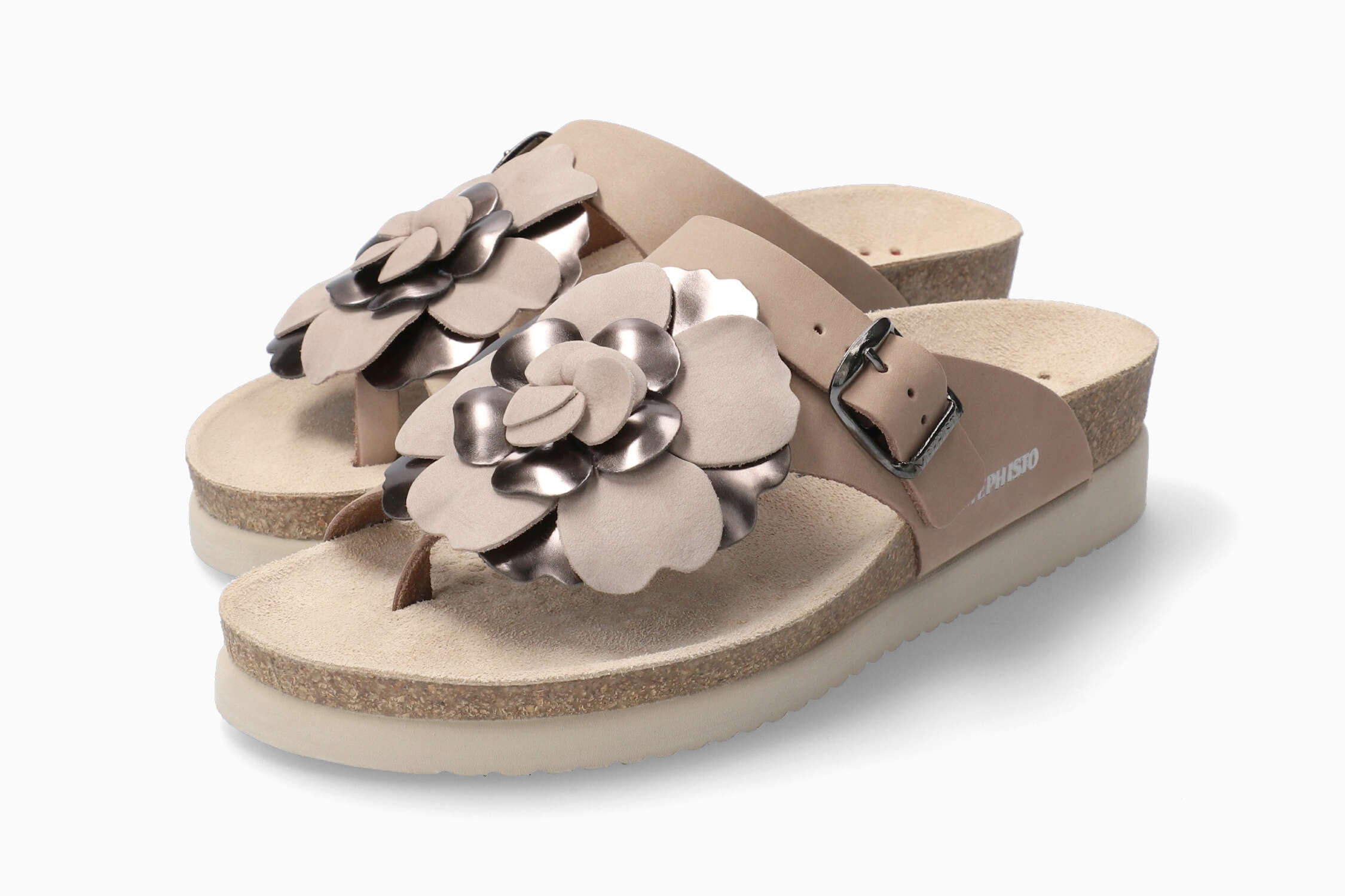 Mephisto Helen Flower - Light Taupe