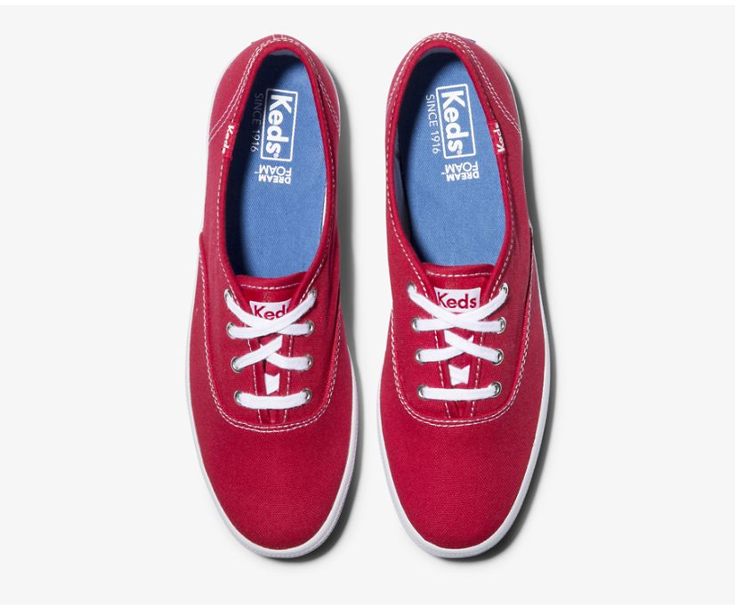 Keds Champion - Red Canvas
