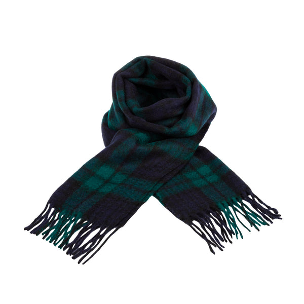 100% Lambswool Scarf Black Watch