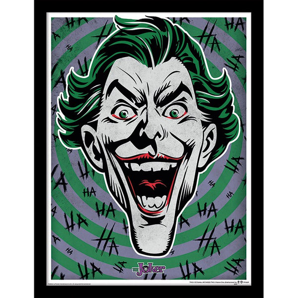 The Joker Hahaha Badge