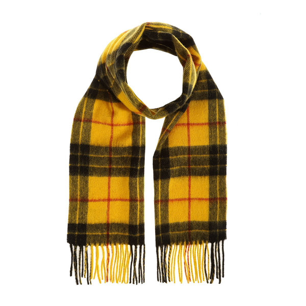 Lambswool Scottish Tartan Clan Scarf Macleod Of Lewis