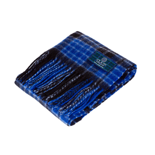 Lambswool Scottish Tartan Clan Scarf Clark