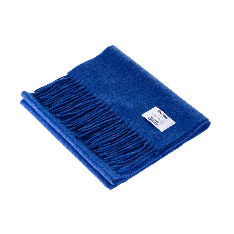 Edinburgh Cashmere Scarf Soft Denim