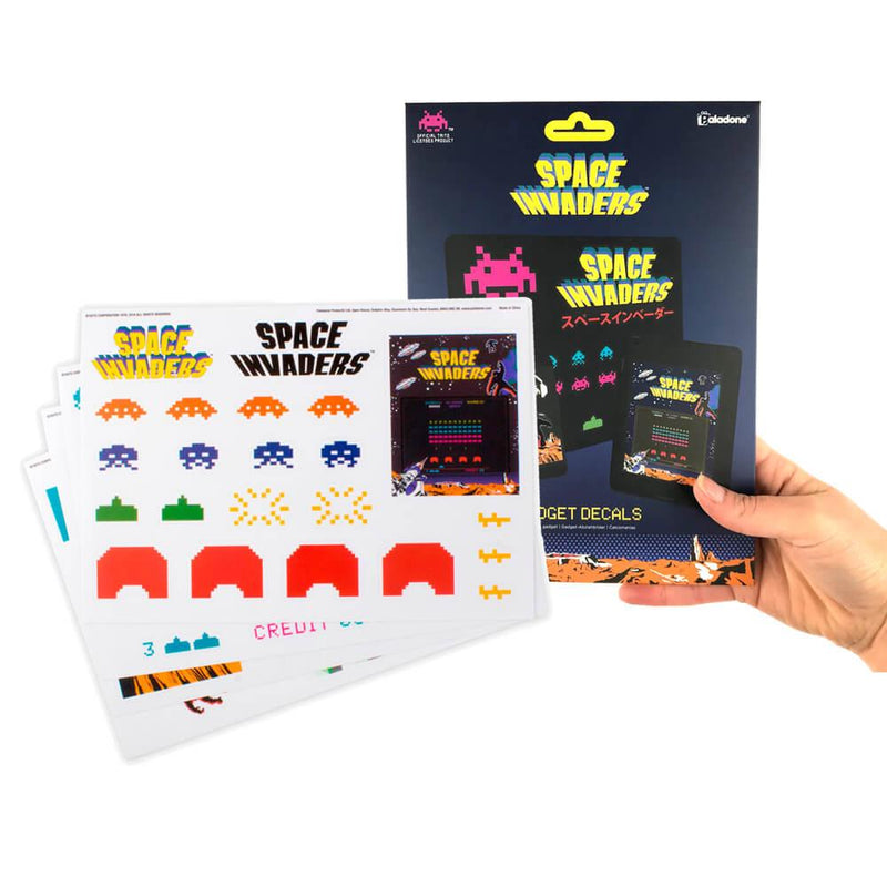 (Sd)Space Invaders Gadget Decals