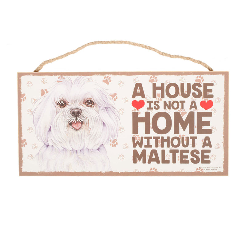 Pet Plaque Maltese