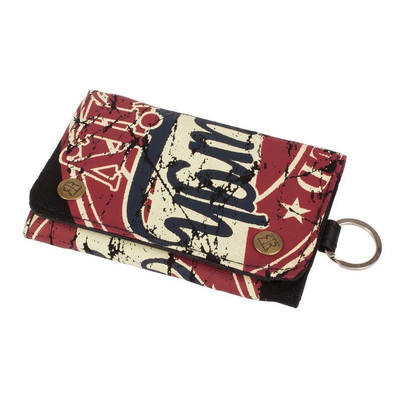 Grace Edinburgh Wanted Wallet Red