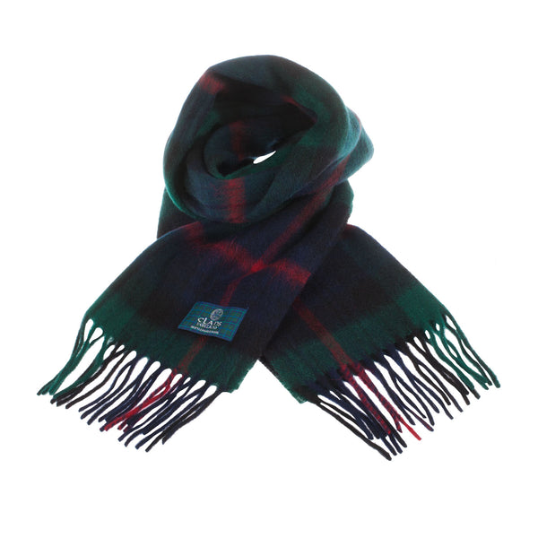 Lambswool Scottish Tartan Clan Scarf Armstrong
