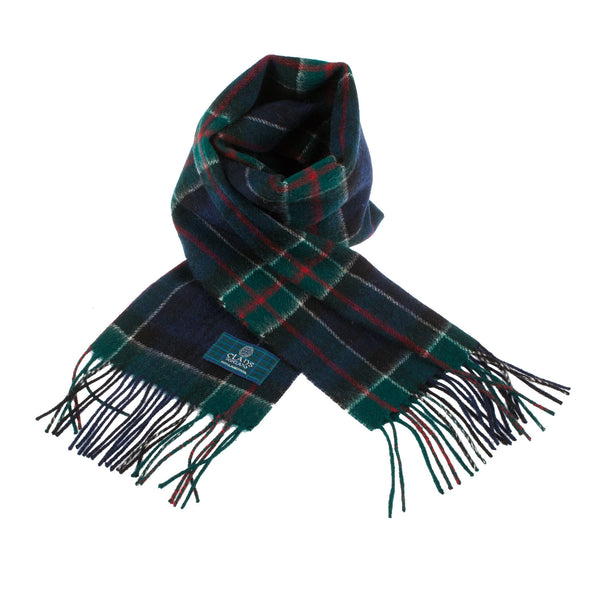 Lambswool Scottish Tartan Clan Scarf Colquhoun