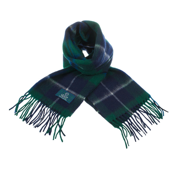 Lambswool Scottish Tartan Clan Scarf Douglas