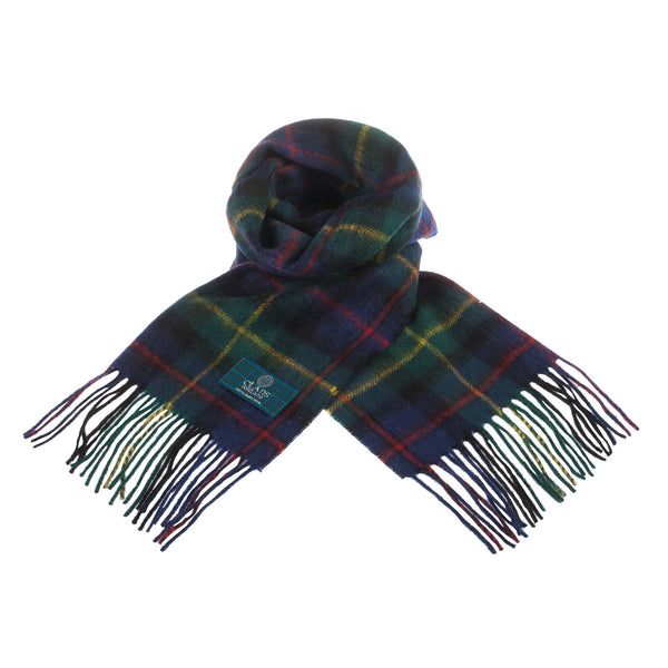 Lambswool Scottish Tartan Clan Scarf Farquharson