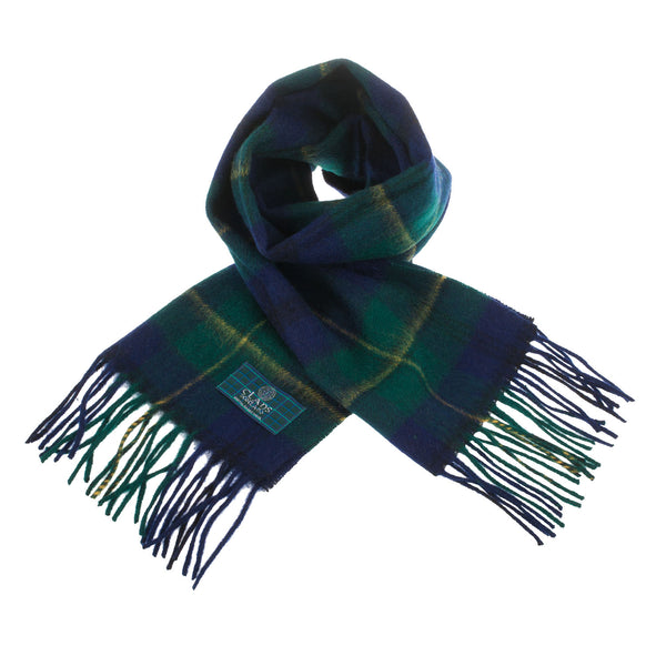 Lambswool Scottish Tartan Clan Scarf Johnstone