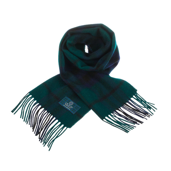 Lambswool Scottish Tartan Clan Scarf Keith