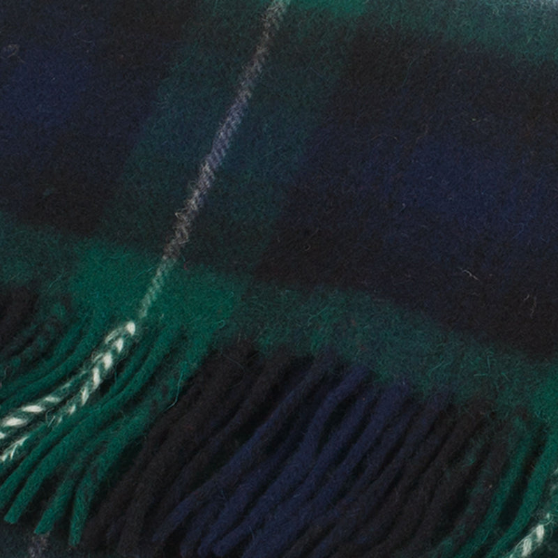 Clans Of Scotland Pure New Wool Scottish Tartan Scarf Lamont