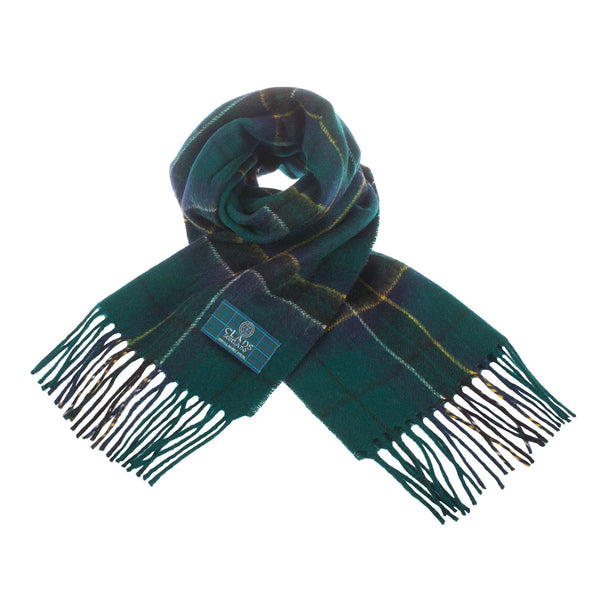Lambswool Scottish Tartan Clan Scarf Macalpine
