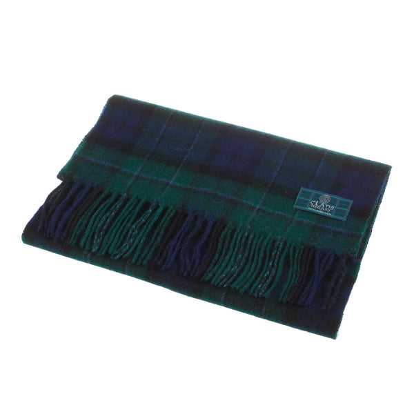 Lambswool Scottish Tartan Clan Scarf Maccallum