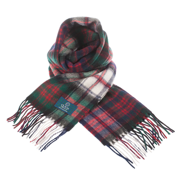 Lambswool Scottish Tartan Clan Scarf Macdonald Dress
