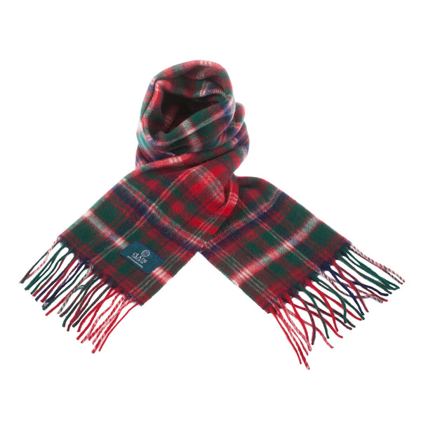 Lambswool Scottish Tartan Clan Scarf Macdougall