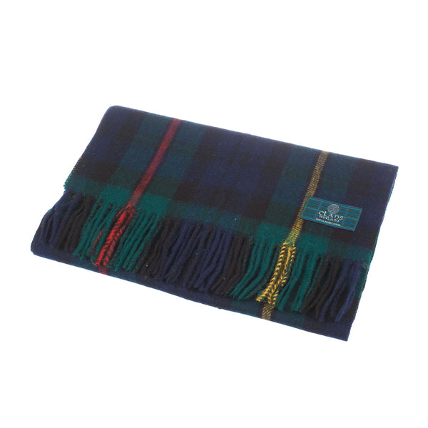 Lambswool Scottish Tartan Clan Scarf Macewan