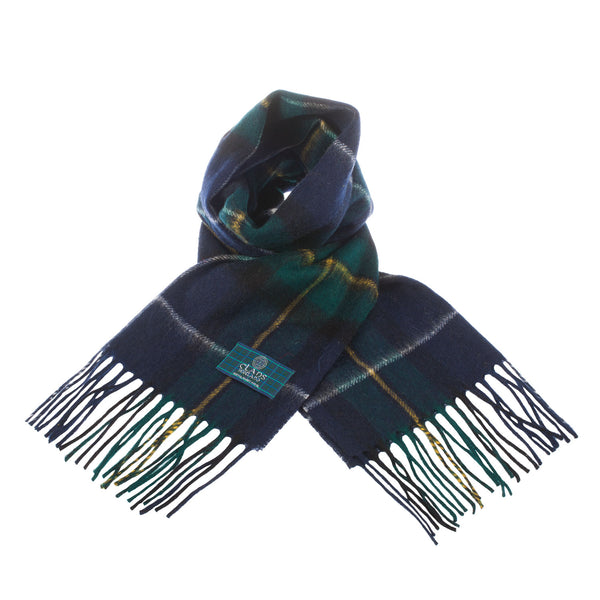 Lambswool Scottish Tartan Clan Scarf Macneil Of Barra