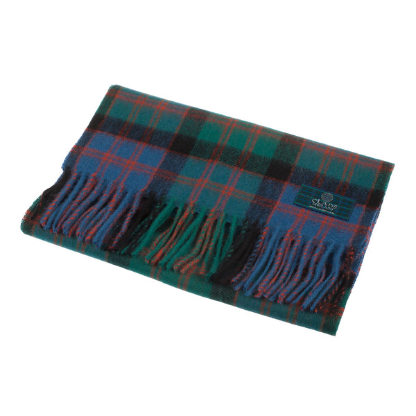 Lambswool Scottish Tartan Clan Scarf Macdonald Clan Ancient