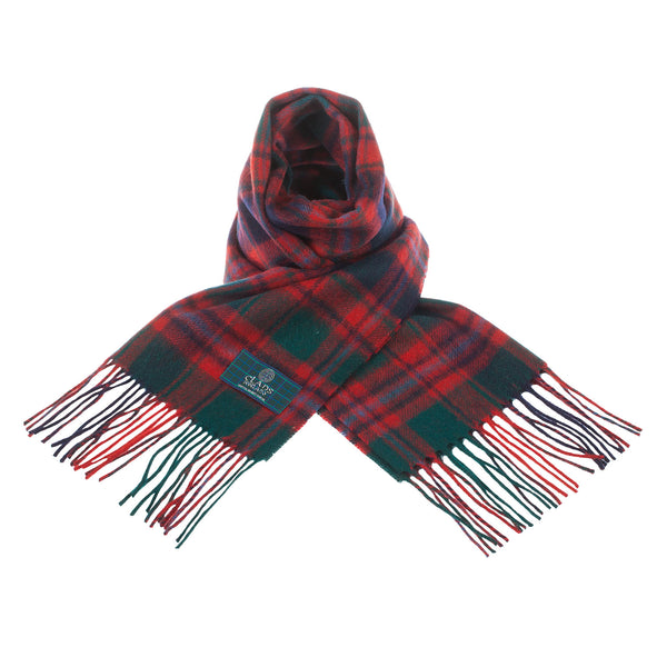 Lambswool Scottish Tartan Clan Scarf Macintyre Clan