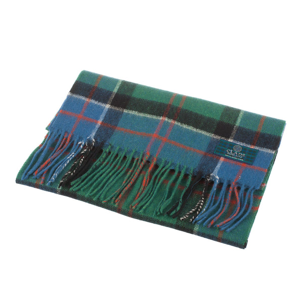 Lambswool Scottish Tartan Clan Scarf Sinclair Hunting Ancient
