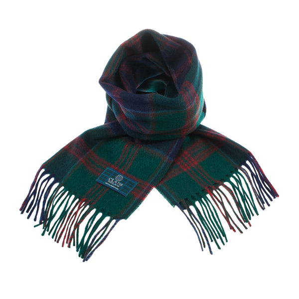 Lambswool Scottish Tartan Clan Scarf Stewart Of Appin Hunting
