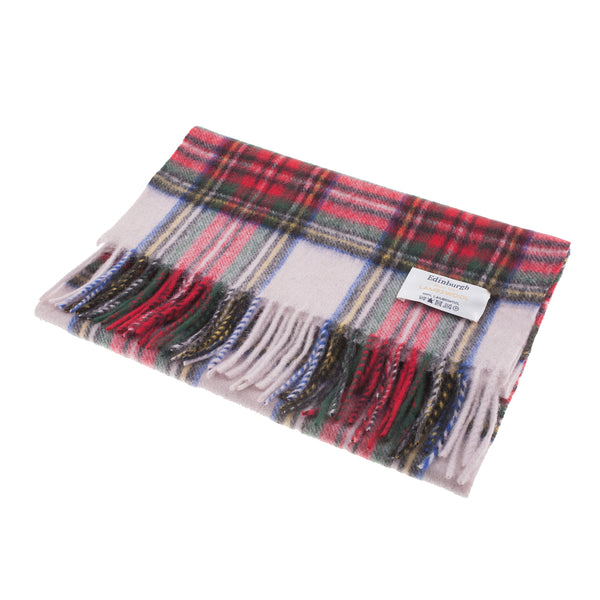 Edinburgh 100% Lambswool Tartan Scarf Stewart Dress