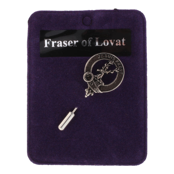Clan Lapel Pin Fraser Of Lovat