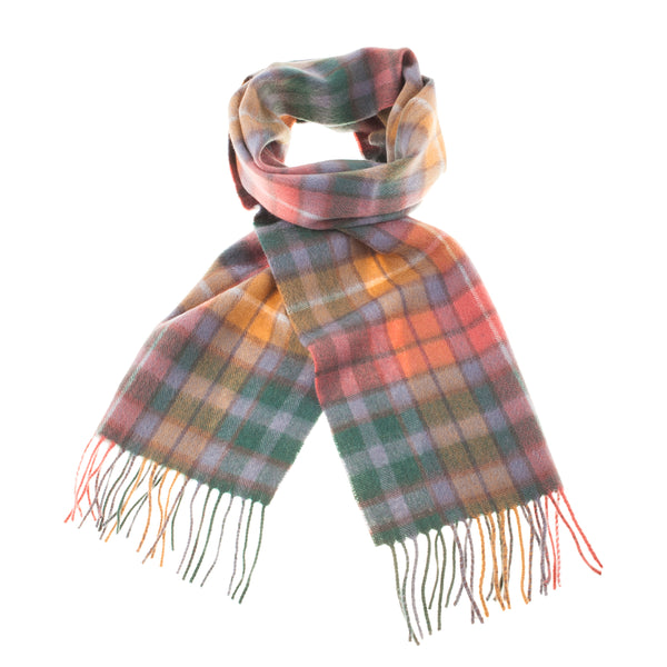 Lyle & Scott 100% Lambswool Scarf Buchanan Antique