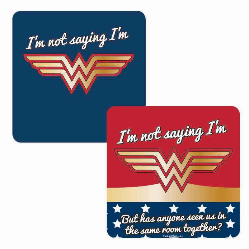 Coaster Lenticular - Wonder Woman