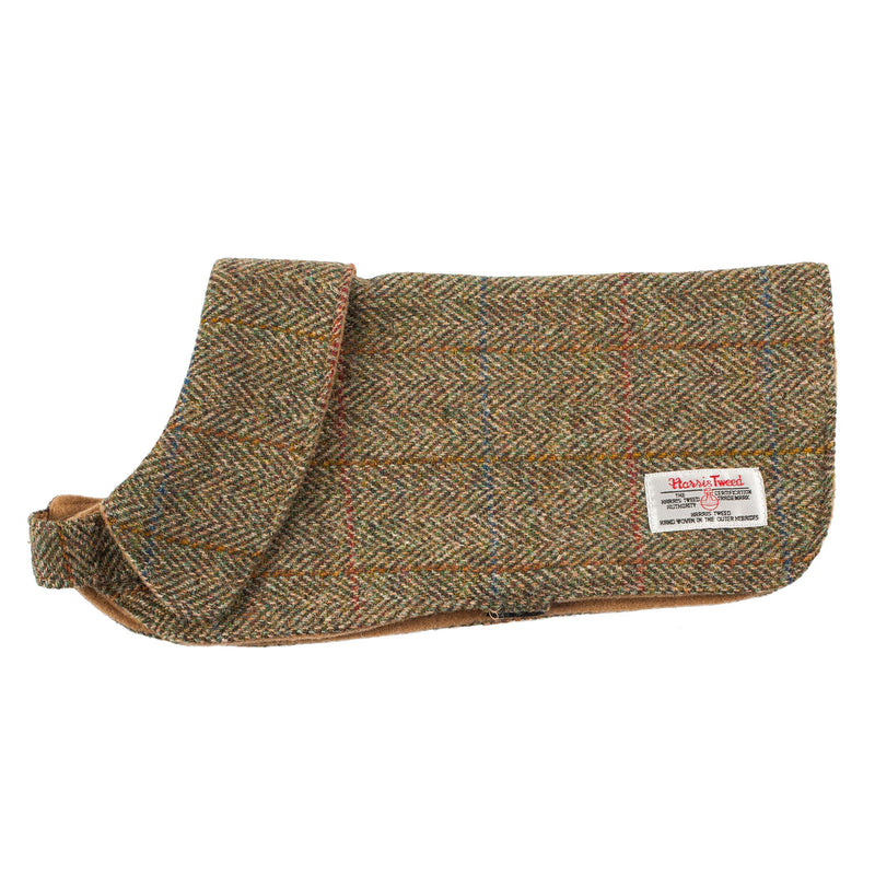 Harris Tweed Wool Scottish Tartan Designer Fashion Dog Coats