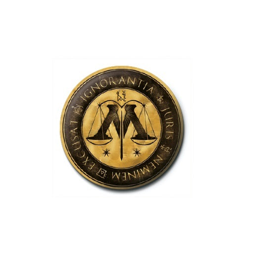 Hp Ministry Of Magic Badge